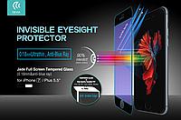Стекло защитное для iPhone 7 5,5 Devia Jade black