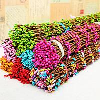 Веточки вербы разных цветов