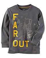 Реглан Carters на мальчика 4-8 лет Long-Sleeve Far Out