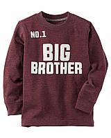 Реглан Carters на мальчика 4-8 лет Long-Sleeve Big Brother