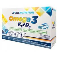 Omega3+D3+K2 30caps (All Nutrition)