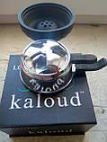 Комплект  силикон чаша самсарис 7 отв черный цвет и Калауд лотос 2 ручки AMY Deluxe, фото 3