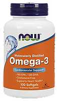 Omega-3 Softgels 100softgels (NOW Foods)