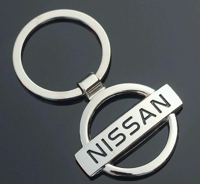 Брелок у вигляді значка NISSAN (ніссан) метал SKU0000810