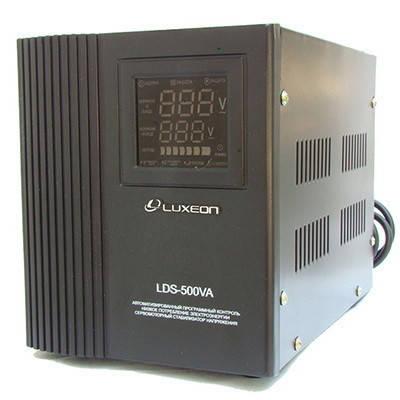Luxeon LDS-500 SERVO стабілізатор для котла сервоприводного типу, фото 2