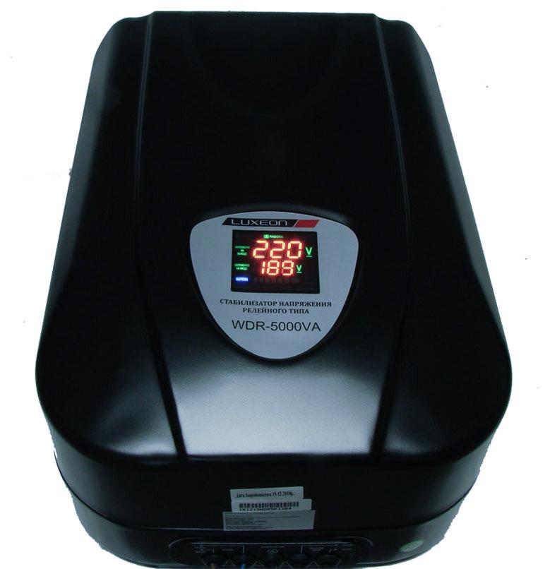 Luxeon WDR-5000 - стабілізатор для дачі