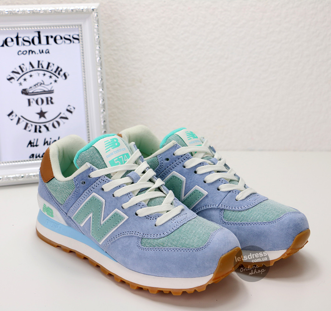 33096e31 Женские кроссовки New Balance WL 574 BCC Original | Нью Баланс 574 ББС  оригинал - LetsDress
