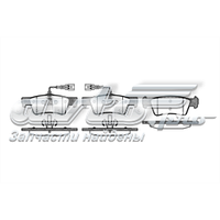 Колодки  Тормозные   Задние VW  T-5  R 17