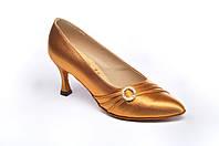Туфли для танцев  женские Стандарт цвет бежевый