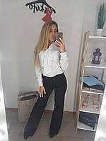 Стильная белая блуза из супер-софта, фото 1