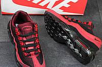 Кроссовки красные Nike Air Max 95. мужские