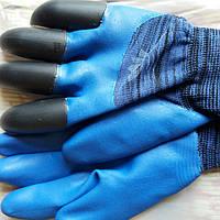 Перчатки  коготки с латексным покрытием