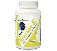 Vitamin E Stark Pharm 100 caps. (антиоксидантная добавка, витамины Е & С)