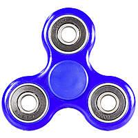 Спиннер Fidget Spinner 3 подшипника Синий для развития мелкой моторики