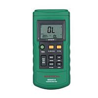 Двухканальный термометр Mastech MS6514 (-200…+1372 °C)