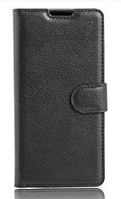 Кожаный чехол-книжка для Sony Xperia E5 F3311 F3313 черный