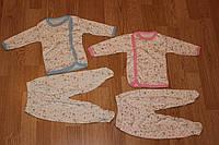 Комплект для новорожденных Розовый 100% хлопок