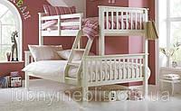 """Двухъярусная трехместная кровать  """"Виктория"""""""