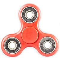 Спиннер Fidget spinner на 3 подшипника Красный игрушка антистресс