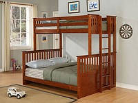 """Трехспальная двухъярусная кровать """"Магеллан"""""""