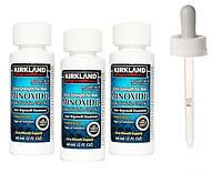 Миноксидил Киркланд Minoxidil Kirkland 5% 3 флакона+дозатор