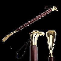 "Екслюзивный Рожок Для Обуви Saphir Imperial  IMPERIAL WOOD & BRASS ""РУКА"""