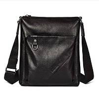 Мужская кожаная сумка. Модель 63176, фото 2