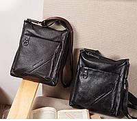 Мужская кожаная сумка. Модель 63176, фото 3