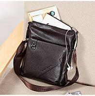 Мужская кожаная сумка. Модель 63176, фото 5