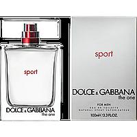 Мужская туалетная вода Dolce & Gabbana The One Sport Men (бодрящий, динамичный аромат)