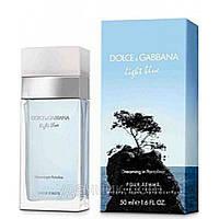 Женская туалетная вода Light Blue Dreaming in Portofino Dolce&Gabbana (свежий, легкий, романтичный аромат)