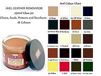 Крем для кожаной мебели Avel Crema Renovadora Cueros Lisos 250ml 08 БОРДО