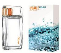 Мужская туалетная вода L'Eau 2 Kenzo pour Homme (легкий, приятный, беззаботный аромат)