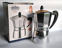 Гейзерная кофеварка Peterhof PH 12530-9 алюминиевая