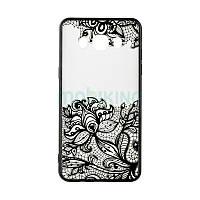 Чехол накладка Rock Tatoo Art Case for Samsung A710 (A7-2016) Fantasy Flowers