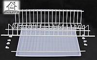 Сушилка для посуды в шкаф 50 см, двухуровневая