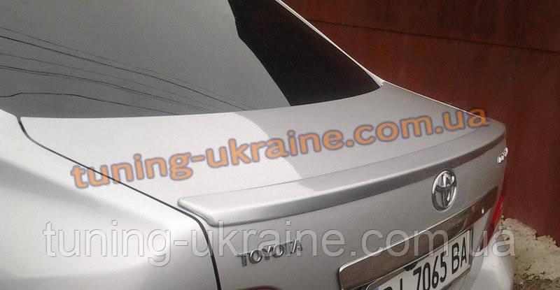 Спойлер-сабля из стеклопластика на Toyota Corolla 2006-2013 - ООО Tuning Avto в Харькове