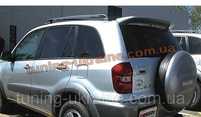 Спойлер из стеклопластика на Toyota RAV4 2000-2006 - ООО Tuning Avto в Харькове