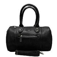 Женская черная сумочка CAVALDI из экологической кожи PU