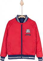 Двустороняя  куртка для мальчика TIFFOSI
