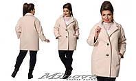 Кашемировое пальто женское Производство Италия размер 42-54