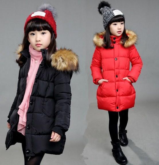 Детское зимнее пальто на девочку подростковое