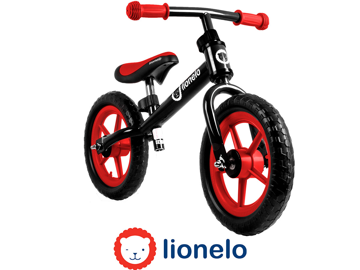 Велобег Lionelo Fin 12 Red Польша
