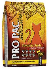 Сухий корм для котів Pro Pac CAT Savanna Pride Indoor Formula 2 Kg