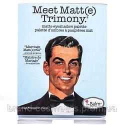 Тени для век The Balm Meet Matt(e) Trimony