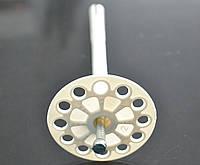 Дюбель зонт для пенопласта 10х160 FIX/WHITE