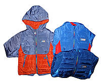 Куртки утепленние  для мальчиков оптом Crossfire 1-5 лет., № CR96-33
