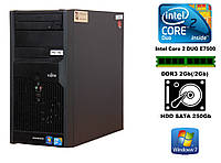 Системный блок Fujitsu ESPRIMO E3521 Intel C2D E7500/DDR3 2G/ HDD250