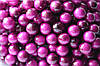 "Глянцевые ягоды (калина) 400 шт/уп. 1 см диаметр, цвета ""яркий пурпур"" оптом"