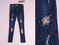 Стильные джинсы для девочки на возраст 4, 8,